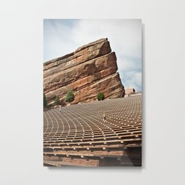 Red Rock Amphitheater  Metal Print