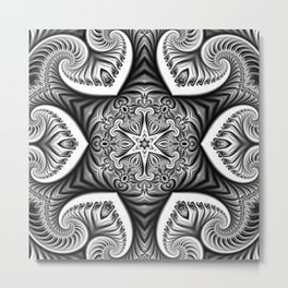 Medallion Fortune Metal Print