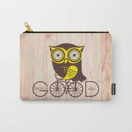 Owl. Have a good day. Carry-All Pouch