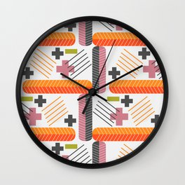 Pluses and minuses Wall Clock