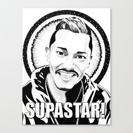 Supastar! Canvas Print