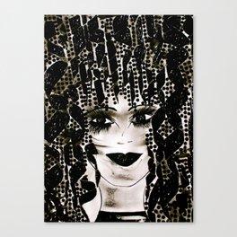 Black Beauty tetkaART Canvas Print