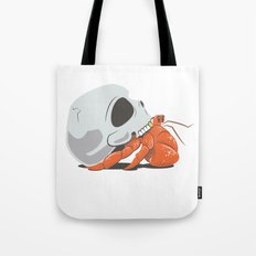 Skull House - Gold Tooth Tote Bag