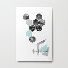 Urban Design AMSTERDAM Metal Print