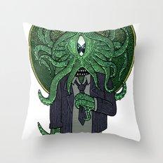 Eye of Cthulhu Throw Pillow