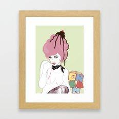 cherry on top! Framed Art Print