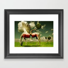 Pegasus Divided Framed Art Print