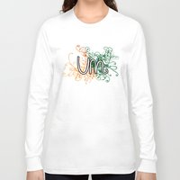 miami Long Sleeve T-shirts featuring Miami by Tanie