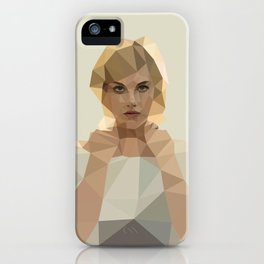 Blonde Summer iPhone Case