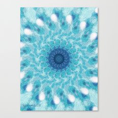 Celestial Joy Mandala Canvas Print