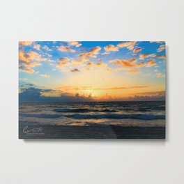 Cloudy Morning In The Sunshine State (IV) Metal Print