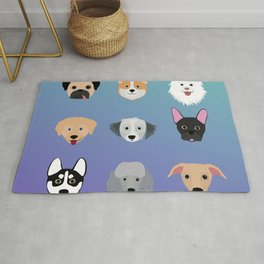 All The Dogs Rug