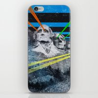 rushmore iPhone & iPod Skins featuring Mt Rushmore, Yo by Dan Howard