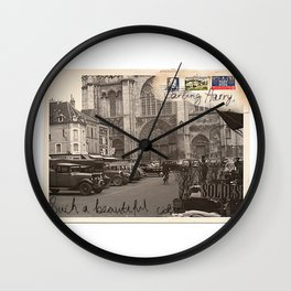 Beautiful city Wall Clock