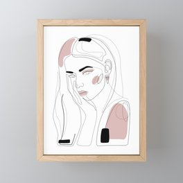 In Blush Framed Mini Art Print
