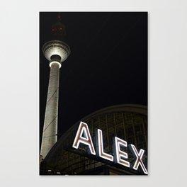Alex and Berlin Canvas Print