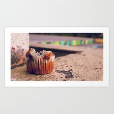 Winner Against Fondant ∫ Living Los Angeles Art Print
