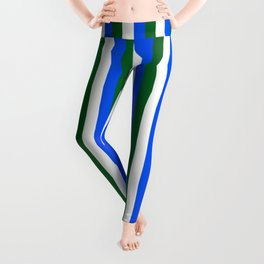 Team Colors 4... blue.dk green Leggings