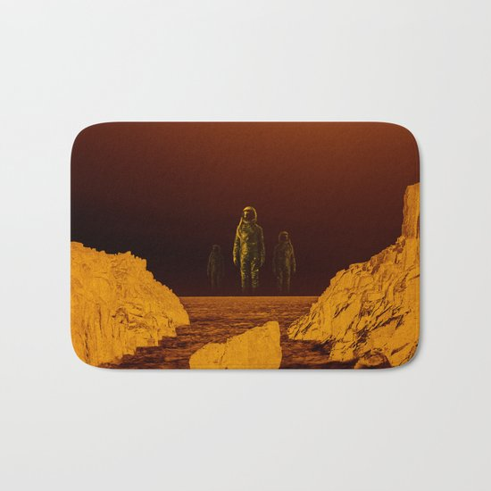 Escape from red planet Bath Mat