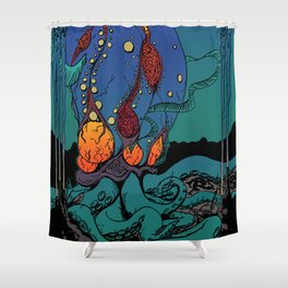 Eldritch Princesses: Ariel Shower Curtain