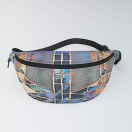 Stained Glass PhotoArt Fanny Pack