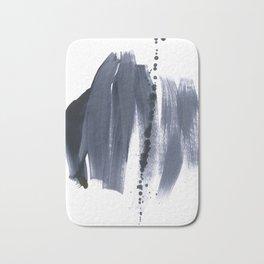 brush strokes 10 Bath Mat