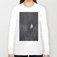 spider Long Sleeve T-shirts featuring Spider by LadyJennD