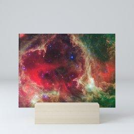 Westerhout 5 - Soul Nebula located in Cassiopeia Deep Space Telescopic Photograph Mini Art Print