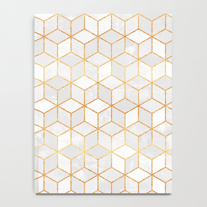 White Cubes Notebook