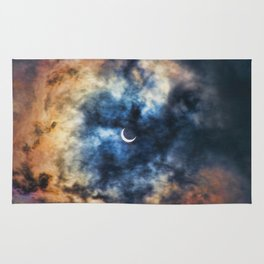 Night Moves - Partial Solar Eclipse Rug