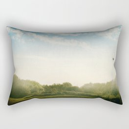 Over the Hill and Far Away Rectangular Pillow