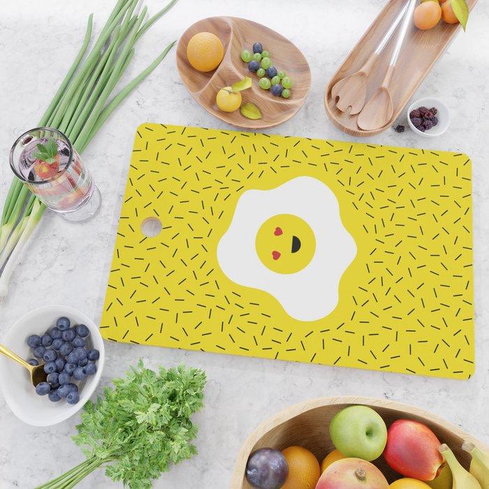 Eggs emoji Cutting Board