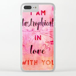 In love with you Clear iPhone Case