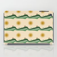 bikes iPad Cases featuring Bikes Pattern by Christina Rollo