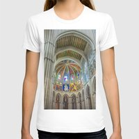 real madrid T-shirts featuring Almudena Cathedral, Madrid by Svetlana Korneliuk