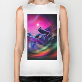 Our world is a magic - Time Tunnel 2 Biker Tank