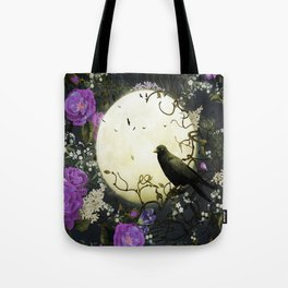 Gothic Moon Tote Bag