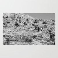 wander Area & Throw Rugs featuring Wander by Casey Sprau