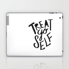 Treat Yo Self Laptop & iPad Skin