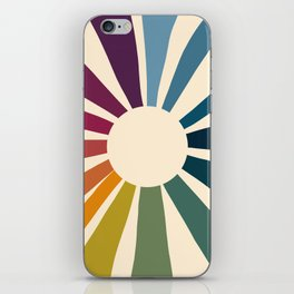 Retro Blossom iPhone Skin