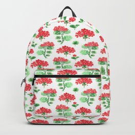 Pelargonium, geranium Backpack