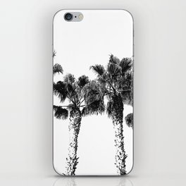 Tropical Palm Tree Photography {2 of 2} | Black and White iPhone Skin