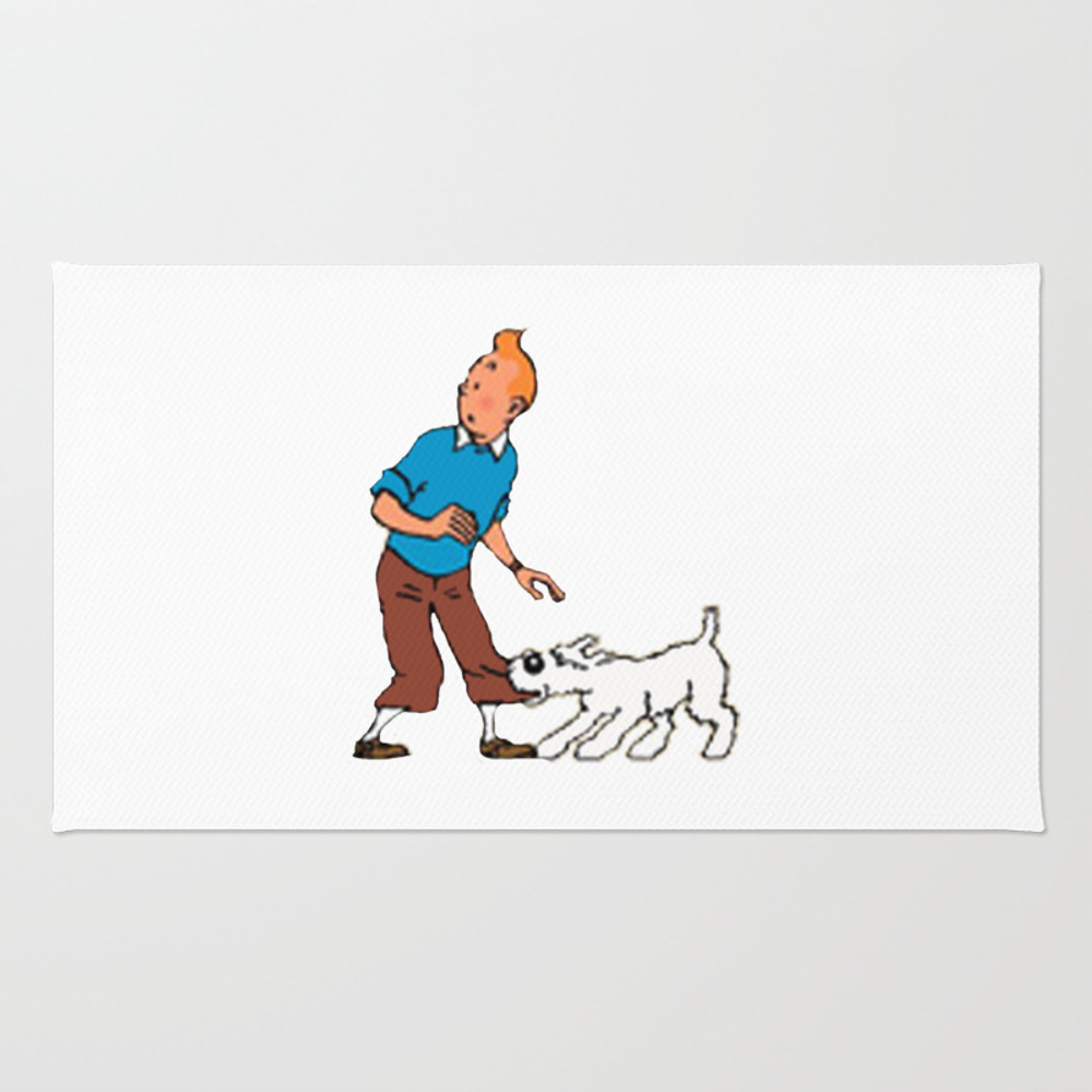The Adventure Of Tintin Rug by Triump RUG8413285