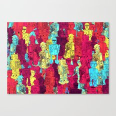 Mr. Robot, your screw is loose. Canvas Print
