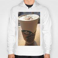 starbucks Hoodies featuring Starbucks by Josj
