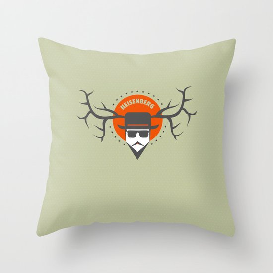 BREAKING BAD - Heisenberg Throw Pillow