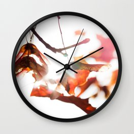 Autumn Sonata II Wall Clock