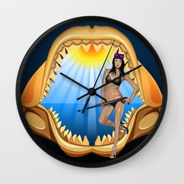 The Trophy  Wall Clock