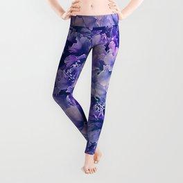 Hibiscus Flower Pattern Leggings