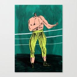 The Boxer Canvas Print